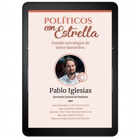 Pablo Iglesias - Políticos con Estrella